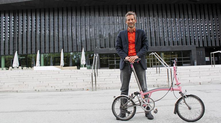 Stadtentwickler, Gemeinderat, Radfahrer: Lorenz Potocnik