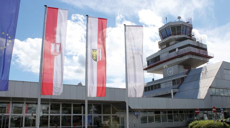 Bald ein internationales Stocksport-Eldorado: der blue danbue airport linz