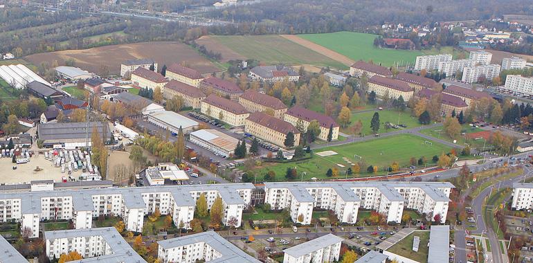 Über 300.000 Quadratmeter umfasst das Areal der Kaserne Ebelsberg