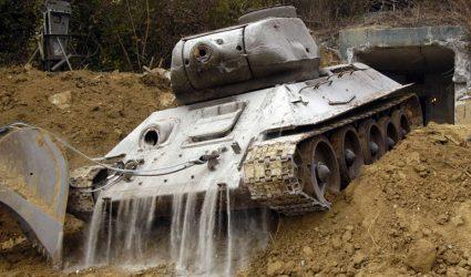 Feste Anlagen als Relikte des Kalten Krieges