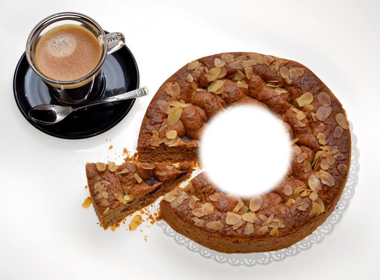Schmausen mit Durchblick: Linzer Donut-Torte mit Loch.