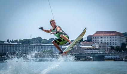 Donau-Wassertemperatur knapp vor Rekordwert
