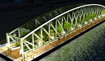 War der Ideenwettbewerb zur Nachnutzung der Eisenbahnbrücke nur reine Augenauswischerei?
