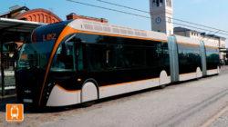 180 Fahrgäste finden in den neuen 24,7-Meter-Bussen Platz