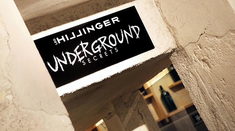 """Der Hillinger """"Underground"""": ein Weinkeller voller Geheimnisse..."""