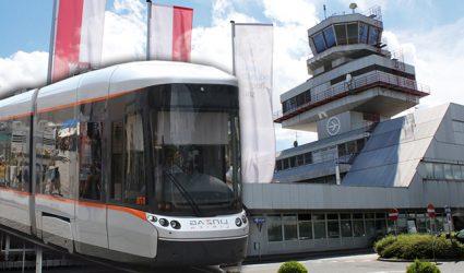 Flughafen Linz: Straßenbahn statt Zug?