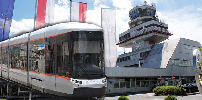 Flughafen Linz Straßenbahn Statt Zug