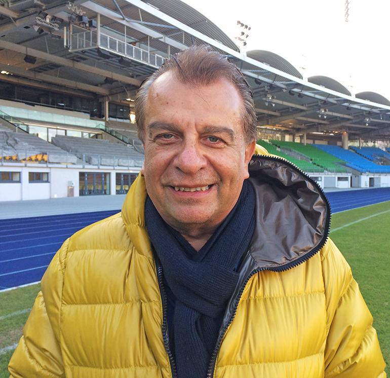 Neo-Blau-Weiß Linz Boss Walter Niedermayr