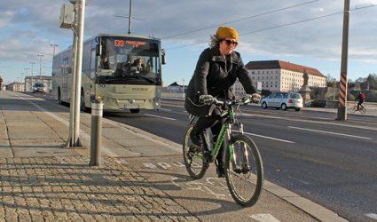 Linz: Winter-Radler im Vormarsch