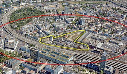 Auf 40.000 Quadratmetern: neue Mega-Bahnhofs-City für Linz