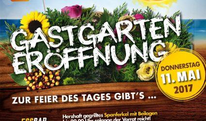 Auf geht's: Gastgarteneröffnung im ROX!