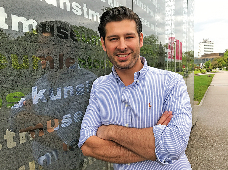 Der Linzer FPÖ-Nationalrat Philipp Schrangl (32)