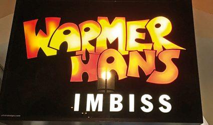 Der Warme Hans lebt weiter!