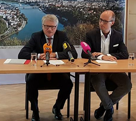 Zivilkontrollen beschlossen: Bürgermeister Klaus Luger und sein Vize Detlef Wimmer