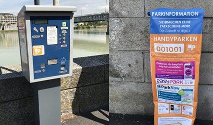 Handyparken im Vormarsch: Parkscheinautomaten werden schrittweise abgebaut