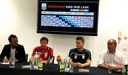 "Saisonauftakt für den LASK: ""Europacup? Lasst uns bitte am Boden bleiben!"""