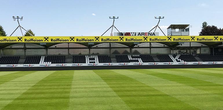 Aktuell spielt der LASK im schmucken, aber viel zu kleinen Waldstadion Pasching