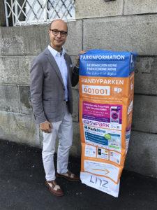 Der für die Parkraumbewirtschaftung zuständige Referent, Vizebürgermeister Detlef Wimmer
