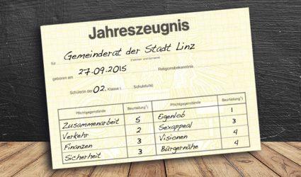 Gemeinderat: Zeugnisverteilung