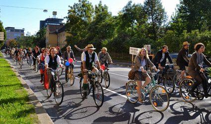 """Linzer Radparade mit politischem """"Gipfeltreffen"""""""
