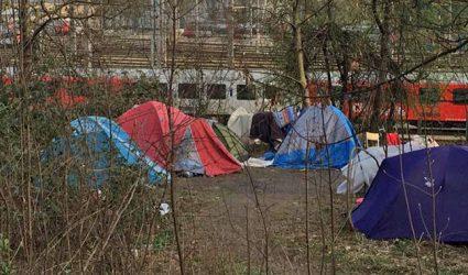 Gemeinsame Maßnahmen gegen illegale Bettlerlager