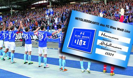 FC Blau-Weiß Linz Mitgliedschaft NEU: kein Mitspracherecht bei elementaren Fragen