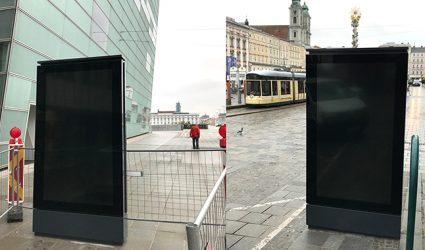 SPÖ-nahe Firma erhält Zuschlag für 14 neue XL-Infoscreens in der City
