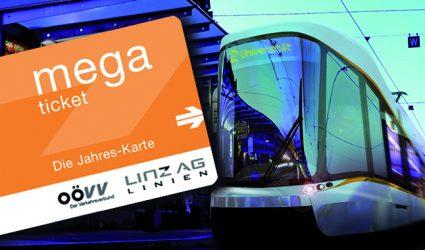 Die Linz Linien-Jahreskarte boomt: im österreichischen und internationalen Vergleich sehr günstig
