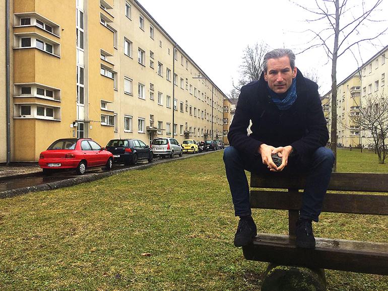 """""""Denn sie wissen nicht, was sie tun"""": Lorenz Potocnik in der Siedlung Wimhölzel-Hinterland"""