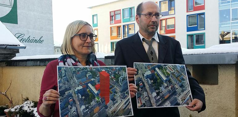 """Anrainerin Monika Forstner-Kral: """"""""Das Projekt stellt den bestehenden Bebauungsplan und städtebauliche Ziele, die im örtlichen Entwicklungsplan verankert sind auf den Kopf."""""""