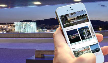 Jetzt geht der Linzer Tourismus voll App!