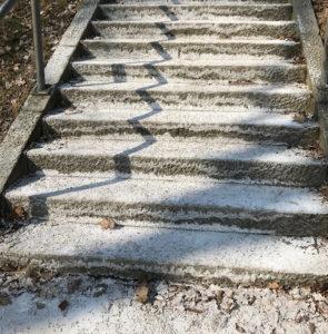 """Sicher ist sicher ist sicher: """"Salzstiege"""" im Donaupark"""