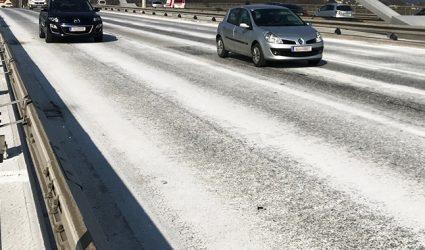 Die weißen Straßen von Linz