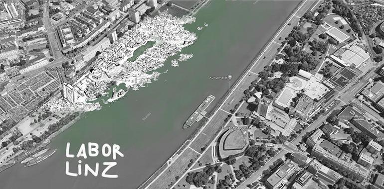 """Platz 2 beim NEOS Innovationswettbewerb: """"Labor Linz""""."""