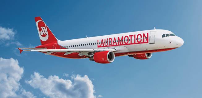 Ab Juni hebt auch LAUDAMOTION (oder Ryanair) ab Wien ab