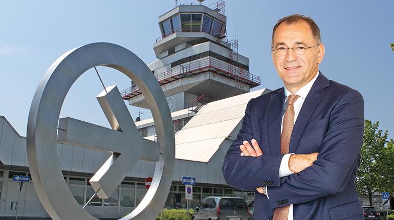 blue Danube airport Linz-Direktor Norbert Draskovits