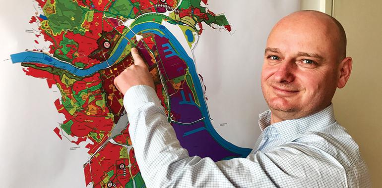 Infrastruktur-Stadtrat Markus Hein