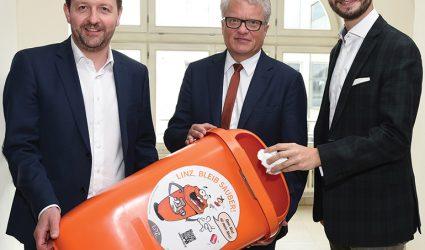 """""""Linz, bleib sauber"""": Kampagne soll Saubarteln zur Räson bringen"""