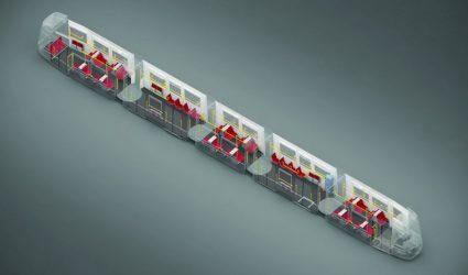 Parallel zur Fahrtrichtung: Neue Sitzanordnung soll das Bimfahren revolutionieren