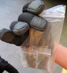 Ein Teil der beim Hinsenkampplatz sichergestellten Drogen