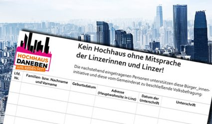 Volksbefragung soll Linzer Hochhaus-Wildwuchs stoppen