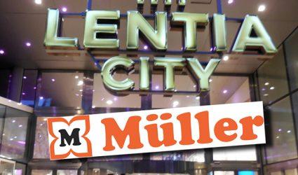 Lentia City statt Landstraße: Drogerie-Riese MÜLLER kommt nach Linz