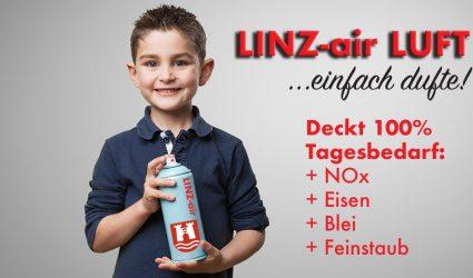 Luft in Dosen: Kommt jetzt Linz statt Hallstatt zum Zug?