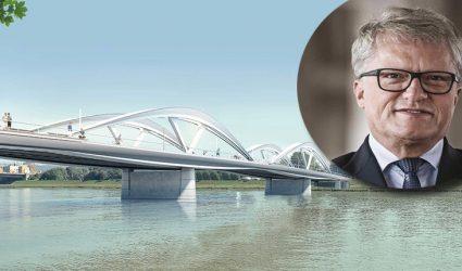 Baustart der neuen Eisenbahnbrücke: Mitte Juni geht's los!