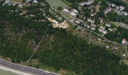 In 113 Metern Höhe: Linz bekommt die längste Fußgänger-Hängebrücke der Welt