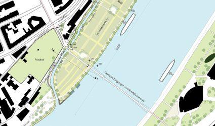 Jahrmarktgelände NEU: Die Linzer Donauinsel nimmt Fahrt auf!