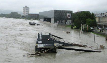 Heute vor 5 Jahren: Als die Sintflut über Linz hereinbrach…