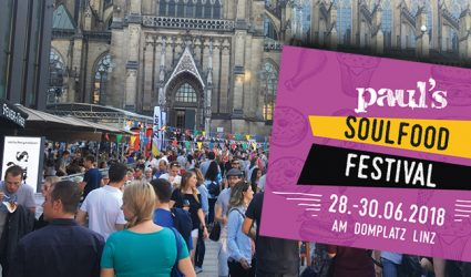Soul trifft Food – beim 2. Linzer Soulfood-Festival!
