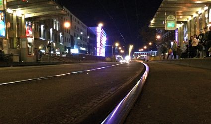 Linz an der Tramway