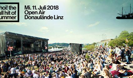 Ahoi Linz am 11. Juli: Das größte Open Air des Sommers legt an!